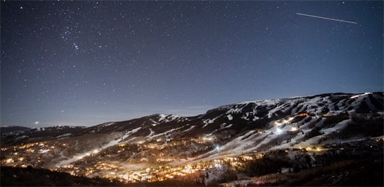 Snowmass Night Sky