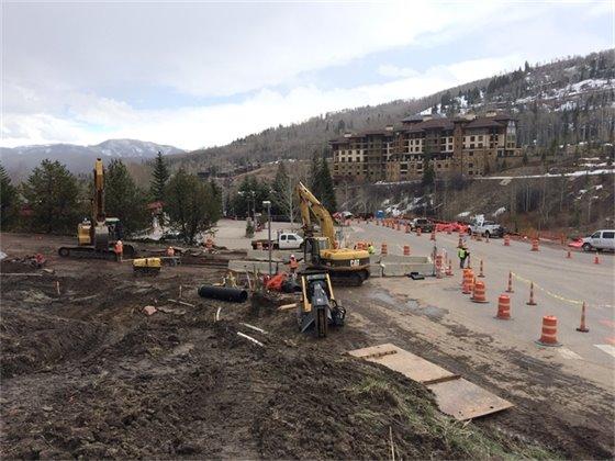 Brush Creek Road Construction