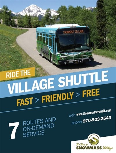 Ride the Village Shuttle