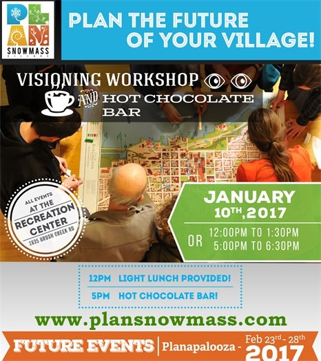 Visioning Sessions - Jan 10, 2017