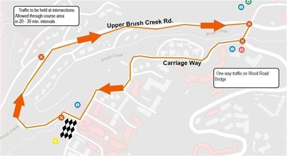 Car Race Map