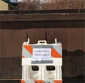Christmas Tree Dumpster