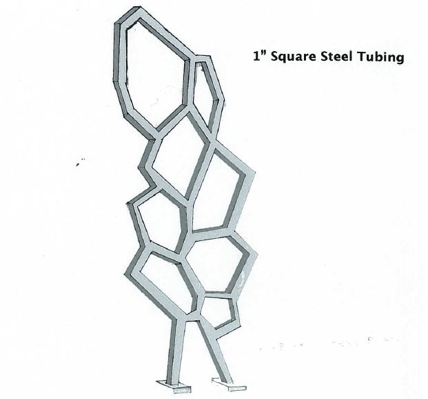 Steel Sculpture