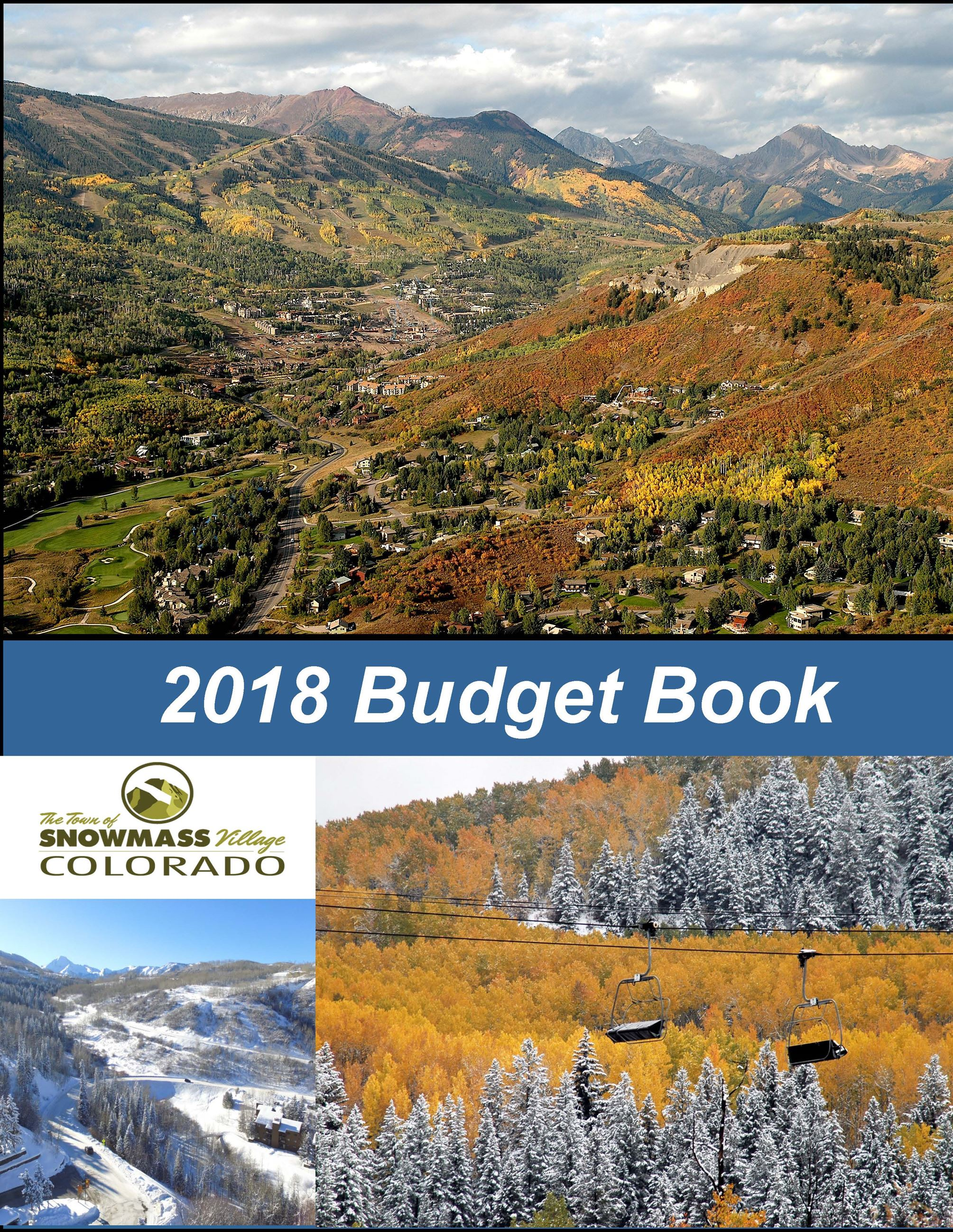2018 BUDGET COVER